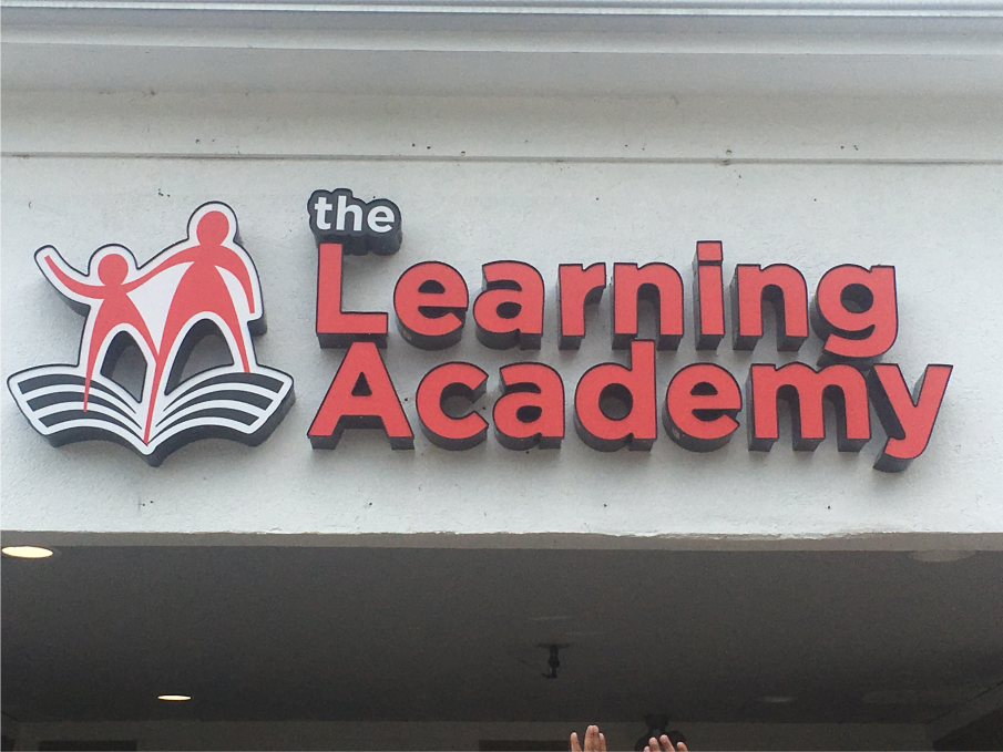 The Learning Academy Daycare Childcare Westerville Sign