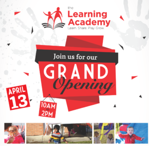the learning academy westerville daycare childcare grand opening event