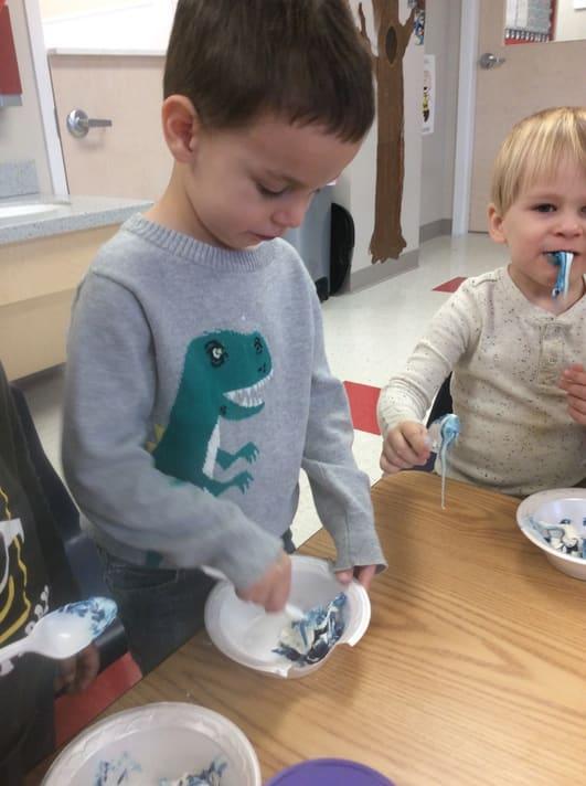 Early preschool activities in Westerville, OH